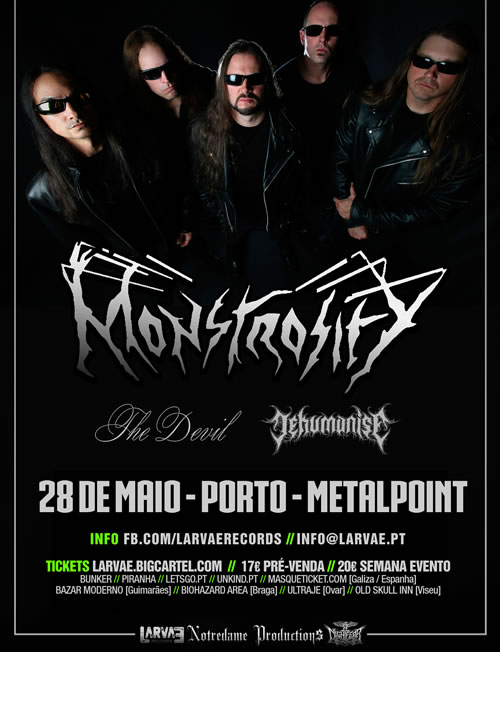 Monstrosity |  The Devil | Dehumanize (Porto)