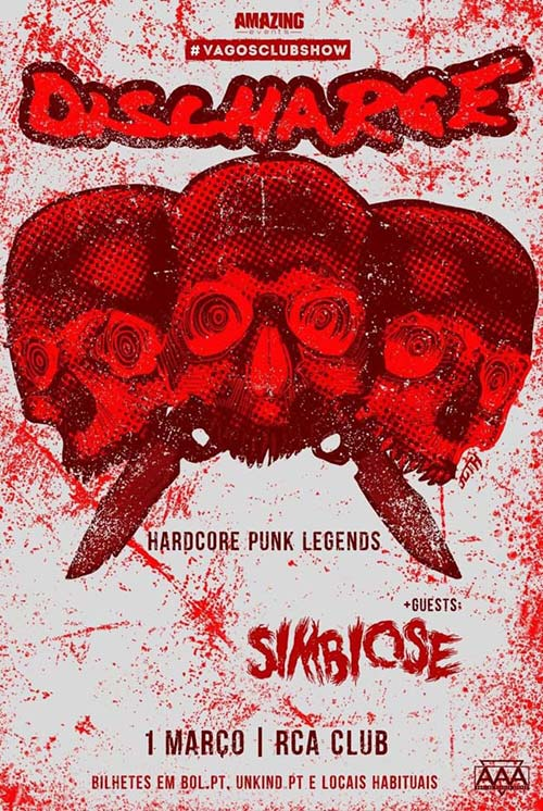 Discharge + Simbiose (01/03)
