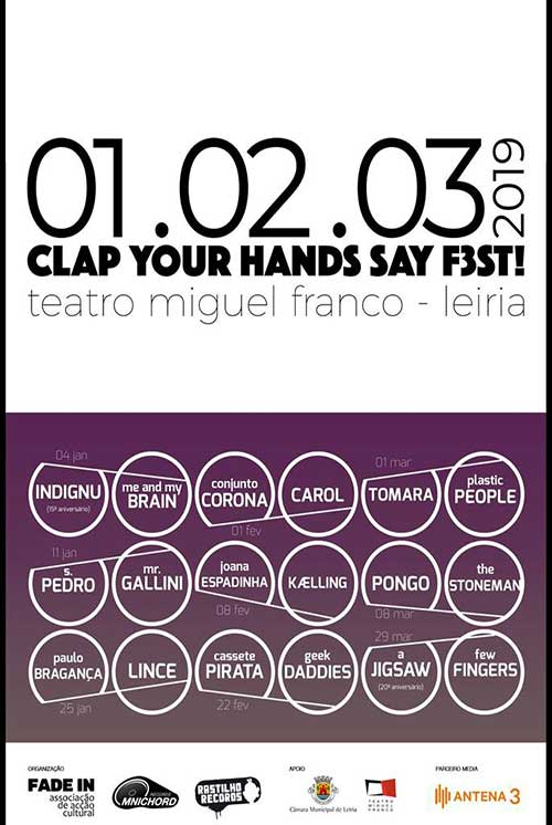 Clap Your Hands Say F3st! - Tomara + Plastic People