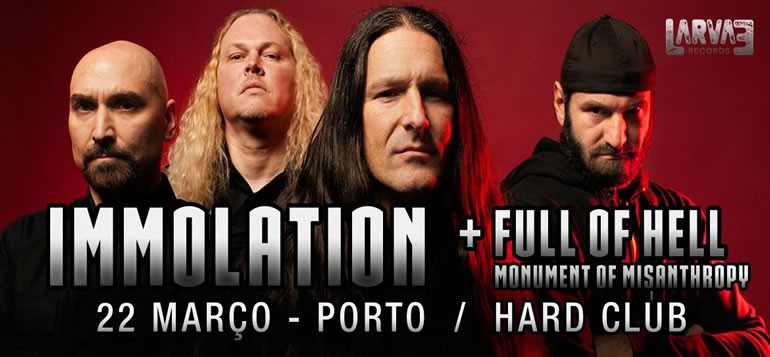 Immolation de regresso a Portugal