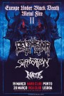 Belphegor + Suffocation + Hate (Lisboa 20/03)