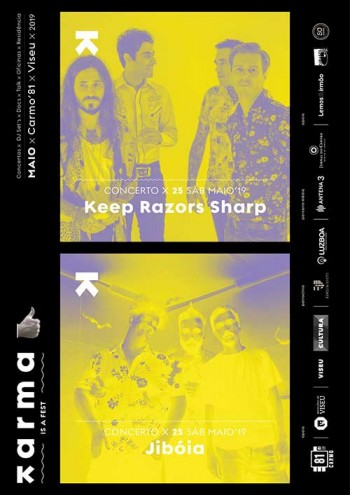Karma is a fest – Jibóia & Keep Razors Sharp (25/05)