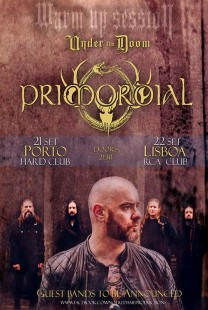 Primordial | Warm up Session Under the Doom (Lisboa)