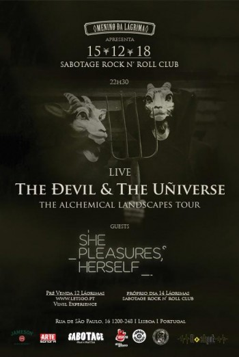 The Devil & The Universe + She Pleasures Herself