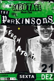 The Parkinsons + From Atomic (21/12)